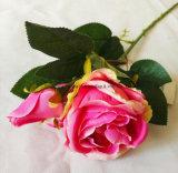 La sensación de mano de Flores Artificiales Rosepara el hogar ydecoración de boda