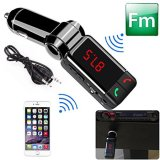 Auto Kit MP3 Music Player Wireless Bluetooth FM Transmitter Radio mit 2 USB Port
