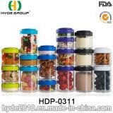 Le cadre en plastique populaire de poudre de protéine du Portable pp, BPA libèrent le conteneur en plastique de pillule (HDP-0311)