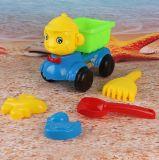 Speelgoed van het Zand van de Reeks van het Hulpmiddel van het Speelgoed van het Strand van jonge geitjes het Kleurrijke Grappige Plastic voor Verkoop