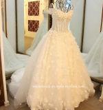 Perlando o estoque 3D do vestido de casamento floresce o vestido de casamento nupcial E17913