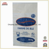 sac tissé par polypropylène de 40kg pp pour le riz de farine