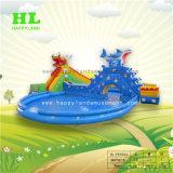 As crianças Adulto Parque Infantil Giant Aqua Park Parque Aquático Inflável do equipamento