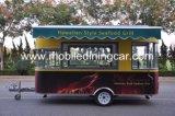 옥외 거리 이동할 수 있는 간이 식품 밴 또는 판매를 위한 손수레