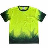 De korte T-shirt van de Slijtage van de Veiligheid van de Polyester van de Koker Koele Weerspiegelende