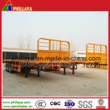 Hoofd Raad 3 Flatbed Aanhangwagen van het Vervoer van de Container van de As 40FT