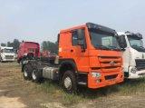 الصين [هووو] شاحنة رأس [6إكس4] يقايض جرار عمليّة بيع في غانا
