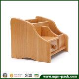 マルチ機能木の机のオフィスの文房具のホールダー