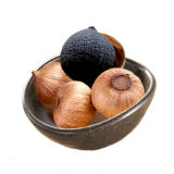 De zure en Zoete Smaak vergistte Zwart Knoflook de Bollen van 6 Cm voor Voedsel