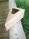"""فطيرة سندويتش شريحة [كرفت] يجمّع صندوق مع نافذة 6 3/8 """" [إكس] 4 1/4 """" [إكس] 2 1/2 """" قعر ذاتيّة يتيح لأنّ عرس نزه"""