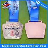 Più nuova medaglia del metallo di Jiu-Jitsu di disegno 2016 con il nastro