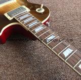 한 조각 바디 목 (GLP-510)로 파열되는 레몬에 있는 Lp 작풍 일렉트릭 기타