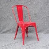 Présidence empilable rouge en métal de Tolix pour le banquet et le restaurant Yc-Zg96