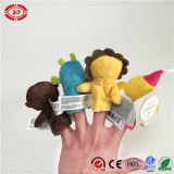 Finger Puppet Set Funny Baby Plush Soft Learning Toy