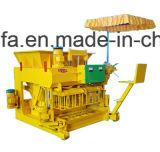 Bloco portátil pequeno que faz a máquina tijolo movente fazer à máquina a máquina do bloco