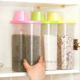 Casella di memoria materiale di organizzazione del grano del magazzino della cucina dei pp
