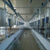Melkwohnzimmer-Fisch-Knochen-Tunnel-Typ 40 SitzEdelstahl