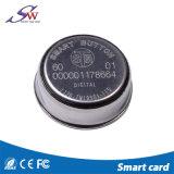 Acciaio inossidabile Ibutton chiave elettronico Ds1990 di protocollo impermeabile 1-Wire con il supporto di Palstic