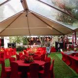 Используемый красивейший ясный шатер венчания крыши для сбывания