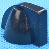 MiniChicken Head Plastic 6mm Black Knob für Guitar Parts