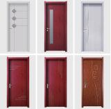 Dernière conception de style moderne WPC intérieure de porte en bois