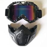 モトクロスのためのオートバイのGooglesの卸し売りヘルメットEyewearは紫外線防護眼鏡を遊ばす
