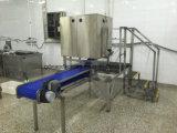 Arrière-sur la machine d'écaillement occidentale de crevette de fractionnement, machine de peau de crevette