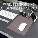 Stuoia senza fili del mouse di Mousepad di memoria del caricatore del Qi per il iPhone X