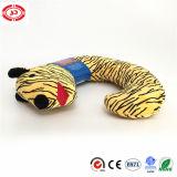 Het Hoofdkussen van de Steun van de Hals van de Slaap van het Patroon van de tijger