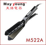 El profesional del precio de fábrica de M522A Scissors el hierro plano del pelo Titanium