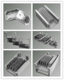 L'aluminium moulé sous pression servo-entraînement du moteur du radiateur de dissipateur thermique