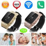 Adultos ancianos Sos portátil GPS Tracker reloj con Anti-Lost T59