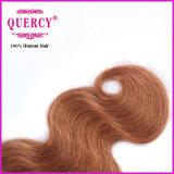 La vague Omber de corps colore les cheveux humains de trame de cheveux brésiliens de Vierge de Remy