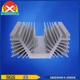 De Uitdrijving Heatsink van het Aluminium van de Omschakelaar van het lassen van Legering van het Aluminium 6063 wordt gemaakt die