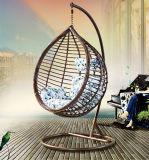 Presidenza popolare dell'oscillazione di Ratten del giardino del patio con Textilene