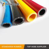 La haute pression en PVC flexible renforcé de fibre pour le GPL et le jardin