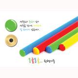 Crayons Hb de la Papeterie de haute qualité avec corps colorés, des fournitures scolaires