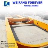 販売のための永久にWeifang Lowboyまたは低いデッキまたは低い半ベッドのトラックのトレーラー