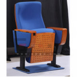 Silla plástica tamaño pequeño del asiento del cine del shell con la cesta de alambre