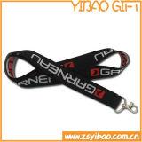 Lanyard de poliéster blanco para regalos promocionales (YB-LY-32)