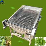 ステンレス鋼の機械を除去する広い枝豆の皮機械/皮の皮