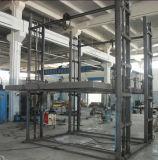 Table élévatrice mécanique hydraulique électrique de longeron de guide en Chine