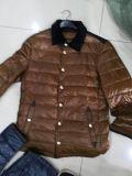 La marca de alta calidad de algodón de Stock Coat chaqueta de algodón para hombre
