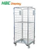 Supermercado Warehoues Roll cage de armazenamento