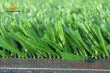 Erba sintetica fibrillata per l'abbellimento, gioco del calcio