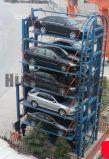 Qingdao-Flusspferd-Berufsauto-Parken-Aufzug-Hersteller-Drehparken-System mit 2500kgs 12cars