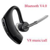 Com o ruído Running da ginástica do exercício do som estereofónico do Mic que isola o fone de ouvido de V8 Bluetooth V4.0 do esporte