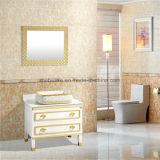 Европейский пол конструкции стоя тщета ванной комнаты PVC