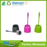 Ferramenta de limpeza doméstica Suporte de escova de toalete de plástico e escova de toalete
