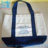 Saco de algodão de Compras reciclado natural &Sacola grande Canvas personalizada
